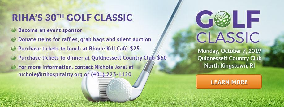 RIHA's 30th Golf Classic