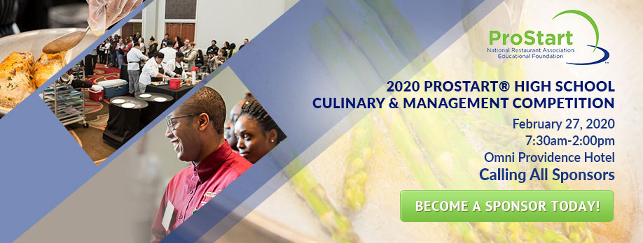 ProStart - Become a sponsor today!